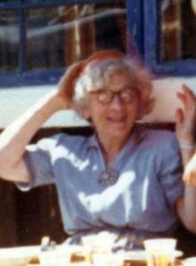 Annie Balchen i 1972